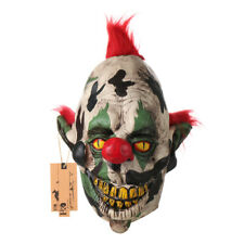 Scary Clown Mask Halloween Party Costume Decorations Creepy Latex Mask for Adult