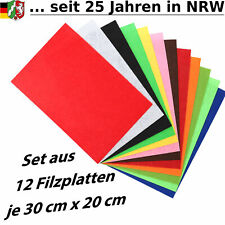 12 Filzplatten Bastelfilz Bastel...