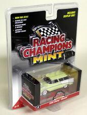 Racing Champions Comme neuf échelle 1/64 1956 Chevy Nomad jaune clair Diecast Voiture Modèle