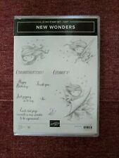 Stampin Up New Wonders