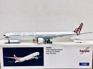 Herpa 1:500 Virgin Australia Airlines BOEING 777-300ER VH-VPD 526593