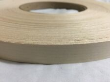 "maple pre glued 3""x25' wood Veneer Edge Banding"