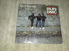 Run DMC Walk This Way Picture Sleeve Only