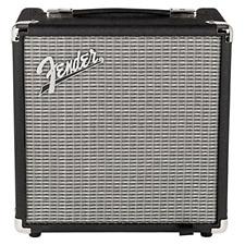 Fender 2370100000 Rumble™ 15 Bass Amplifier (V3), 120V, Black/Silver