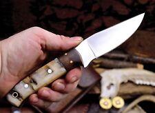 CFK USA Custom Handmade D2 Sheep Horn Small Mini Hunting Blade Walnut EDC Knife