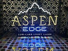 "Coors Aspen Edge Neon Sign Real Neon Light - 30"" X 22"""