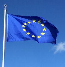 LARGE FLAG EUROPEAN UNION 5ftx3ft (150cmx90cm) EUROPE EU 12 GOLD STARS BANNER
