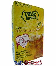 True Lemon Lemon Drink Mix 12 Pack 9.6g Box