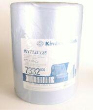 Kimberly-Clark Wypall L35 Wischtücher blau 460 Tücher Rolle Putztuch Putzlappen