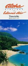 Aloha Airlines / Island Air Timetable April 6, 1997 =
