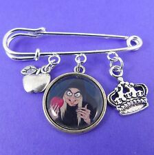 Wicked Witch Kilt Pin Spilla CATTIVI DISNEY BIANCANEVE VELENO Apple Regina cattiva