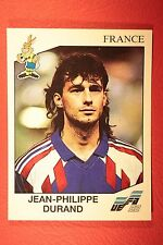 Panini EURO 92 N. 56 FRANCE DURAND NEW WITH BLACK BACK TOP MINT!!