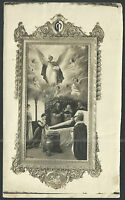 Fotografia antigua de San Vicente Ferrer andachtsbild santino holy card santini