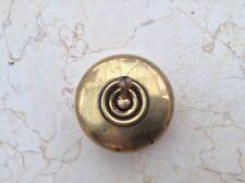 Edwardian - 1920/1930's brass wall switch