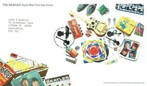 2007 The Beatles, Royal Mail FDC with Tallents House SHS