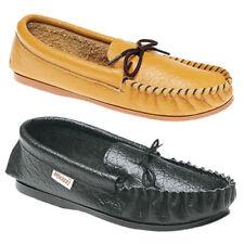 Zapatillas de andar color principal negro de piel por casa de hombre