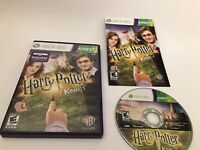Harry Potter for Kinect - Xbox 360 Game Kids Complete Very Good Condition