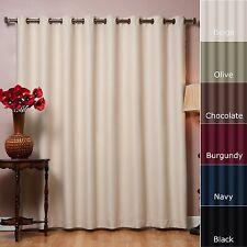 Best Curtain Grommet Beige Home Fashion Blackout Panels Wide Width Curtain