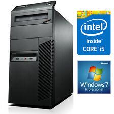 FAST WINDOWS 7 Lenovo ThinkCentre Desktop PC - i5-4570 8GB DDR3 RAM 500GB HDD