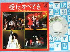 """QUEEN Somebody To Love P-78E JAPAN 7"""" 053az36"""