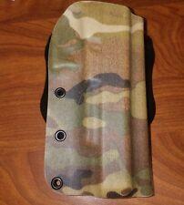 Glock fits g40 mos kydex paddle  holster multicam