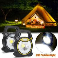 30W Portable USB Rechargeable COB LED Flood Light Garden Work Spot Lamp Hot Sale