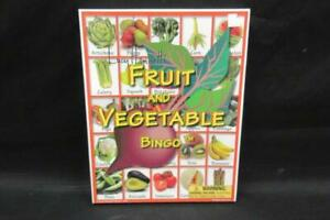Lucy Hammetts Fruit And Vegetable Bingo Game Sealed USA Made Original Box
