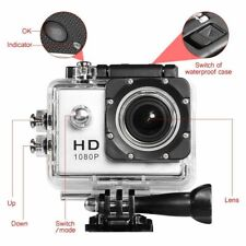 30M waterproof|Sports 1080P HD Action Cam|120°Wide-angle Lens|Compare to GoPro