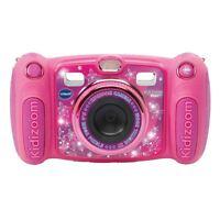 VTech Kidizoom Duo 5.0 Digitalkamera Kinder Fotos Video Selfies Spiele - Pink
