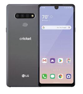 LG Stylo 6 LMQ730AM4 - 64GB - Titan (Cricket Wireless) (Single SIM)