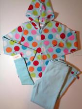 Gymboree Girls Cozy Cutie Dot Fleece Hoodie & Pants + Socks Outfit Sz 8 NWT
