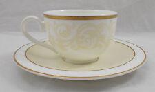 VILLEROY & ET BOCH IVOIRE thé / Tasse à café et soucoupe Excellent