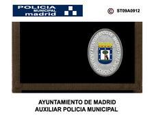 MONEDEROS POLICIALES: POLICIA MUNICIPAL DE MADRID / AUXILIAR
