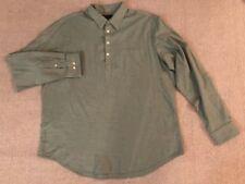 Banana Republic Men's XL Slim Fit Long Sleeve Henley Shirts #D6