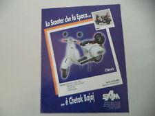 advertising Pubblicità 1997 CHETAK BAJAJ CLASSIC