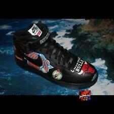 Supreme x Nike x NBA Air Force 1 Mid Sz 12 BLACK DS jordan OG Dunk Jordan SB