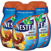 Nestea Sweet Iced Tea Mix - Lemon Naturally Flavored - 45.1oz (Pack of 3)