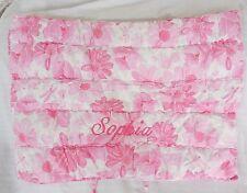 "Pottery Barn Kids Lillian Floral Pink Standard Pillow Sham ""Sophia"" Nla Nwot"