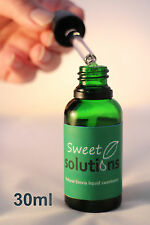 Premium liquid Stevia - 30ml Sweet Solutions ***100% natural  ***UK produced