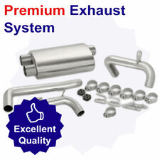 Full Exhaust System for Renault Fuego 1.4 (09/80-04/84)