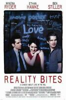 Reality Bites Movie POSTER 11 x 17 Winona Ryder, Ethan Hawke, A