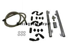 OBX Ford Mustang 98-04 GT 4.6L Chrome Fuel Rail Billet & line Fitting Kit system