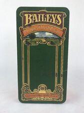 Vintage BAILEYS ORIGINAL IRISH CREAM TIN BOX MADE IN ENGLAND Cool Piece