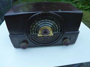 Vintage Zenith Bakelite Tone Register FM Tube Radio Model S-14128  Parts/Repair