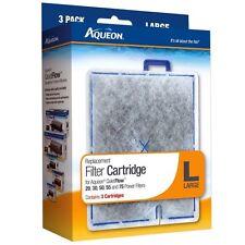 Aqueon Quiet Flow 20 30 50 55 Replacement Large 3 Pack Filter Cartridges