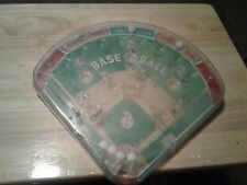 VINTAGE MARX TOYS BASEBALL BAGATELLE HAND HELD PINBALL GAME, WITH BOX