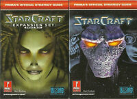 StarCraft Strategy Guides by Prima Games Bart Farkas Brood War 2002