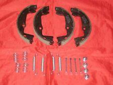 VAUXHALL VECTRA B REAR HANDBRAKE SHOES SET WITH FITTING KIT 1995 to 2002