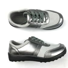 Norm Thompson Womens Sahalie Silver walking shoes Size 7 New Comfort