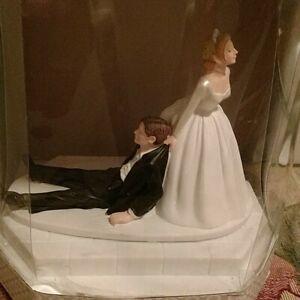 Humorous cake topper Wedding